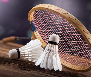 A wonderful badminton match on 12th,Apr,2018.