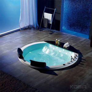 Drop In Whirlpool Tub, Round Hot Bath Tub  k-603