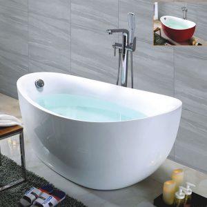 "63"" Modern Acrylic Freestanding Soaking Tub  k-509"
