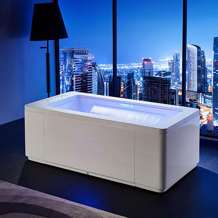 Freestanding Jacuzzi tub