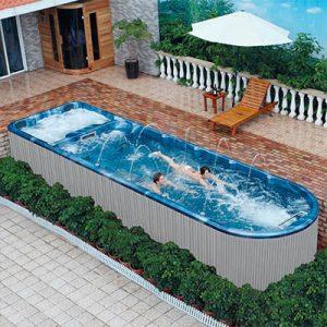 Swimming Pool Exercises,Endless Pool Swim Spa with Air Jet   SP-S08M