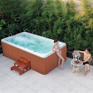 Backyard Swimming Pool,Endless Swim Spa Hot Tub Sizes   KS-04