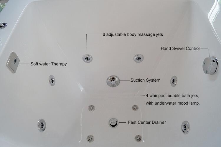 Infant Baby Spa Bath Tub
