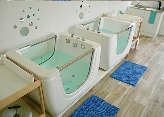 Bathtub in Baby Spa Center, Netherlands