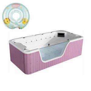 Toddler Swimming Pool Spa Bathtub, Freestanding Baby Bath Spa Tub  K-550P