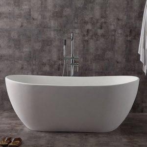 China Supplier Solid Surface Bathtub Big Freestanding Bath  K03B