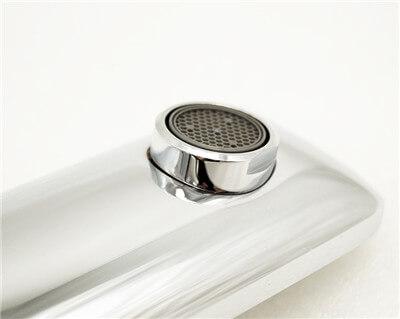 deck mounted basin faucet