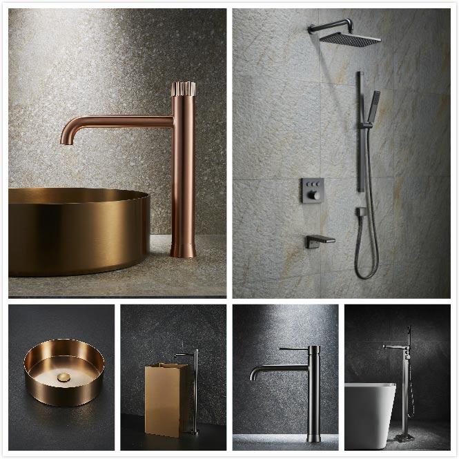 Stainless steel bahtroom sink