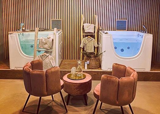 Infant Spa Bath Tub in Spain