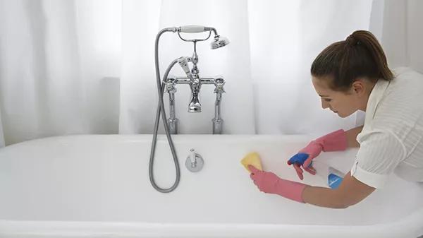 acrylic soaking bath tub