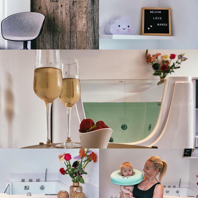 bubbling baby spa tub