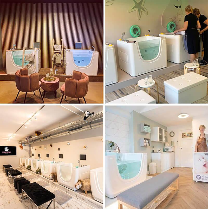 massage baby spa tubs