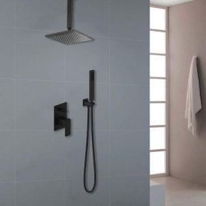 Concealed Shower Mixer Diverter Single handle In Bathroom