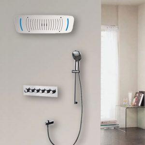 Bathroom Concealed Shower Set Multifunction Complete Rainfall Shower Faucet Set Units  k-05-2006