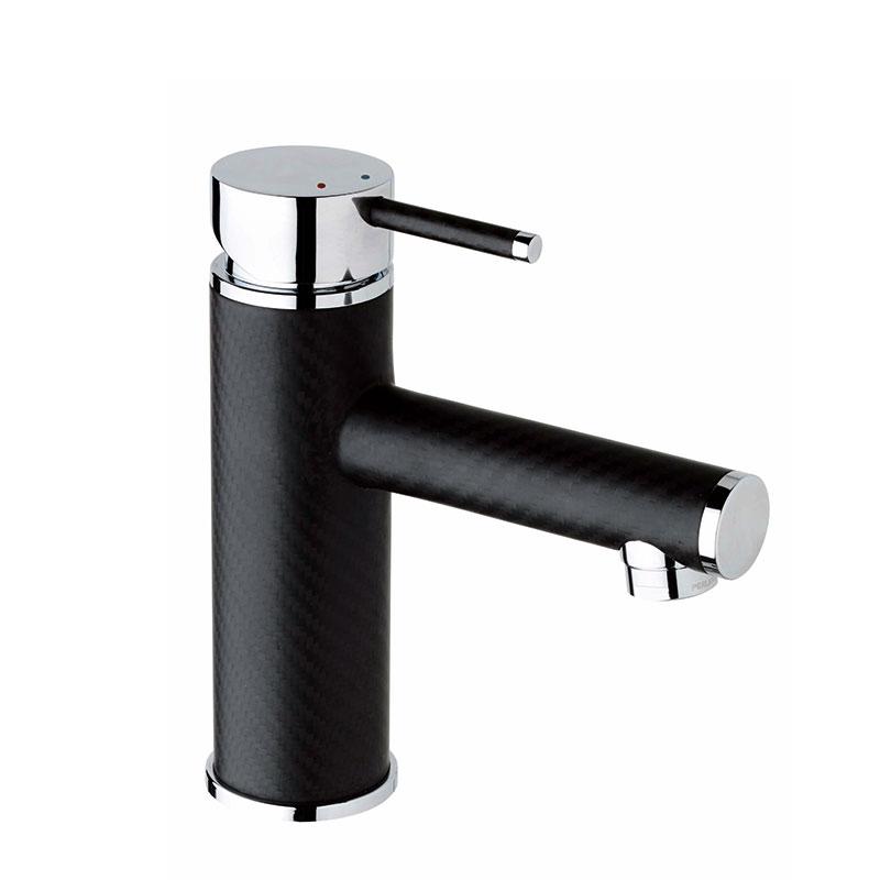 carbon fiber single basin faucet