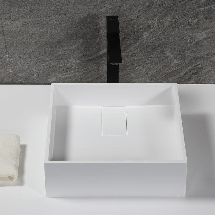 Square Vessel bathroom basin