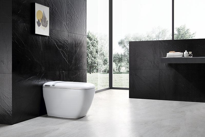 Square smart toilet